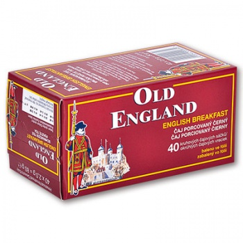 Černý čaj Old England English Breakfast - 40 x 2 g