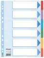 Papírový rozlišovač Esselte - A4, 6 barev