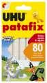 Lepicí guma UHU tac patafix - bílá, 80 ks