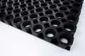 Venkovní rohož Structura, 150 x 100 cm - gumová, černá