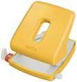 Děrovačka Leitz Cosy - 30 listů, kovová, teple žlutá