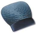 Podložka pod myš s opěrkou zápěstí  Precise - modrá voda