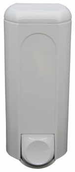 Dávkovač tekutého mýdla - bílý, objem 800 ml