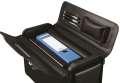 Obchodní kufr Alassio GENOVA - černý, číselné zámky, kapsy