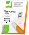Univerzální etikety Q-Connect - bílé, 105 x 57 mm, 1 000 ks