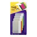 Supersilné záložky Post-it - 50,8 x 38,1 mm, mix barev, 4 x 6 ks