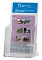 Prezentační stojan na katalogy Q-Connect - A4