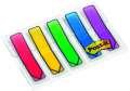 Záložky Post-it ve tvaru šipky - 11,9 x 43,1 mm, mix barev, 5 ks