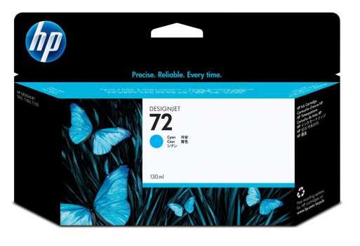 Cartridge HP C9371A/72 - azurová