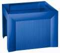 Box na závěsné desky Karat - A4, plastový, modrý