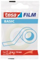 Lepicí páska Tesa BASIC - 19 mm x 33 m, transparentní