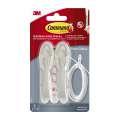 Svazovač kabelů Command - 2 ks + 2 ks pásky