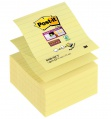 Z-bločky Post-it Super Sticky - 101 × 101 mm, světle žluté, linkované, 5 ks