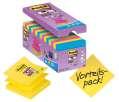 Z-bločky Post-it Super Sticky - 76x76 mm, mix barev 16 ks
