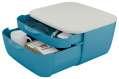 Zásuvkový box Leitz Cosy - dvouzásuvkový, klidná modrá