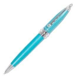 Kuličkové pero Concorde Lady Pen - tyrkysové, modrá náplň, 0,8 mm