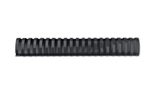 Hřbety plastové GBC 32 mm, černé, 50 ks