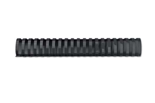 Hřbety plastové GBC 51 mm, černé, 50 ks
