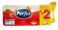 Toaletní papír Perfex - 3vrstvý, bílý, 10 rolí