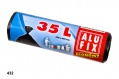Pytle na odpadky Alufix Economy  - černé, 35l, 8 µm, 30 ks