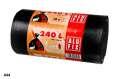 Pytle na odpadky Alufix - pevné, černé, 240 l, 35 µm, 10 ks