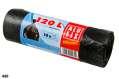 Pytle na odpadky Alufix - černé, pevné, 120l, 17µ,10 ks
