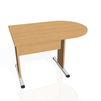 Přídavný stůl Hobis PROXY PP 1200 1, buk/buk