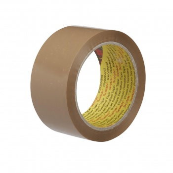 Balicí páska SCOTCH - hnědá, 50 mm x 66 m, extra pevná