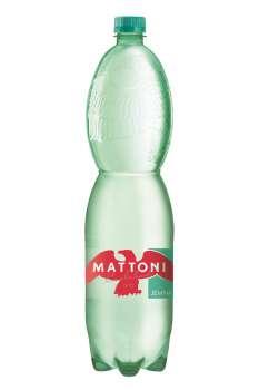 Minerální voda Mattoni - jemně perlivá, 6 x 1,5 l