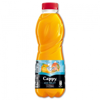 Cappy Ice Fruit - multivitamin, 12 x 0,5 l