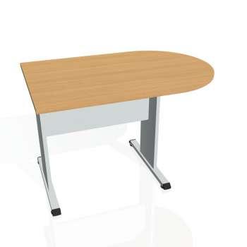 Přídavný stůl Hobis PROXY PP 1200 1, buk/šedá