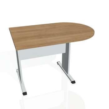 Přídavný stůl Hobis PROXY PP 1200 1, višeň/šedá