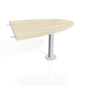 Přídavný stůl Hobis PROXY PP 1200 2, akát/kov