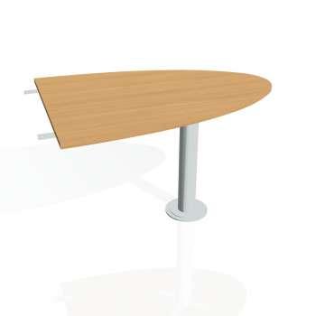 Přídavný stůl Hobis PROXY PP 1200 2, buk/kov