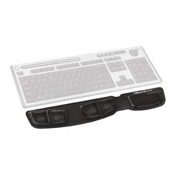 Podložka gelová ke klávesnici Fellowes Komfort - černá