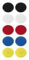 Sada magnetů - 30 mm, mix barev, 10 ks
