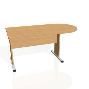 Přídavný stůl Hobis PROXY PP 1600 1, buk/buk