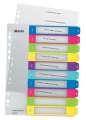 Plastový rozlišovač Leitz WOW - A4+, barevný, 1-10