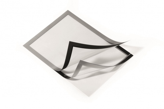 Rámečky Duraframe samolepicí A4 stříbrné, 2 ks