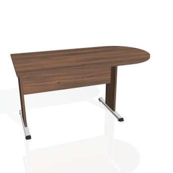 Přídavný stůl Hobis PROXY PP 1600 1, ořech/ořech