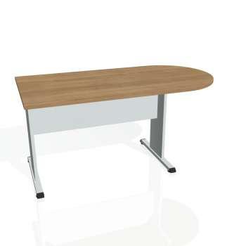 Přídavný stůl Hobis PROXY PP 1600 1, višeň/šedá