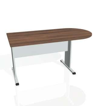 Přídavný stůl Hobis PROXY PP 1600 1, ořech/šedá