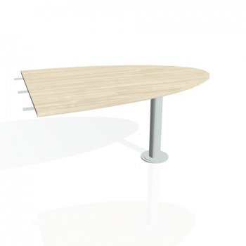 Přídavný stůl Hobis PROXY PP 1500 2, akát/kov
