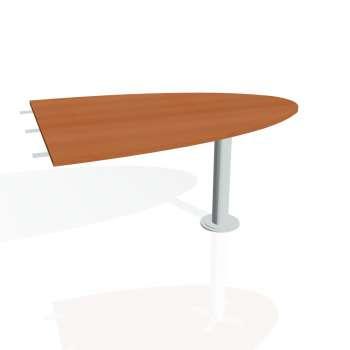 Přídavný stůl Hobis PROXY PP 1500 2, třešeň/kov