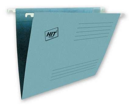 Závěsné papírové desky A4, modré, 25 ks