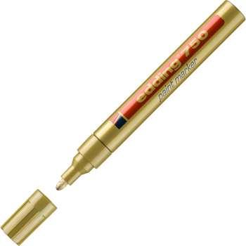 Popisovač lakový Edding 750 - zlatý
