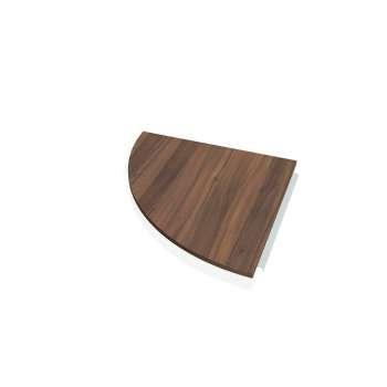 Přídavný stůl Hobis PROXY PP 900 levý, ořech