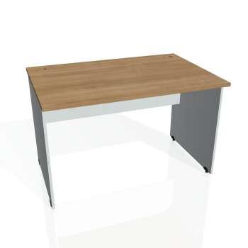 Psací stůl Hobis GATE GS 1200, višeň/šedá
