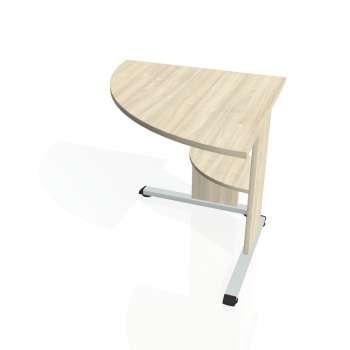Přídavný stůl Hobis PROXY PP 902 levý, akát/akát