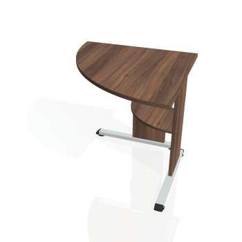 Přídavný stůl Hobis PROXY PP 902 levý, ořech/ořech